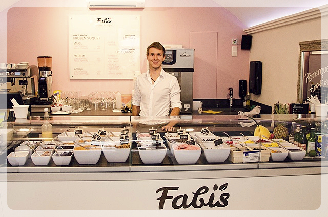 Fabi's Frozen Bio Yogurt