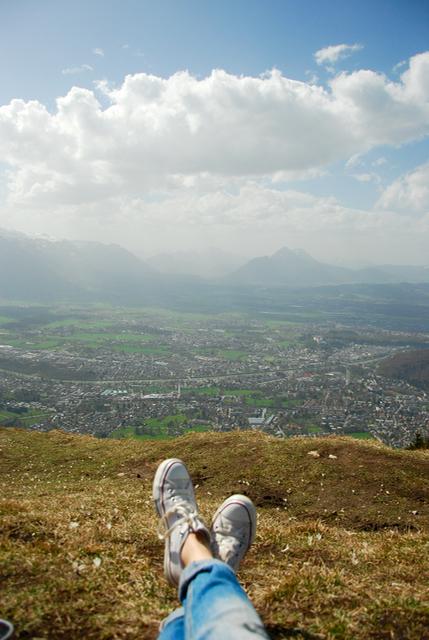 Salzburg über den Wolken Salzburg Leben