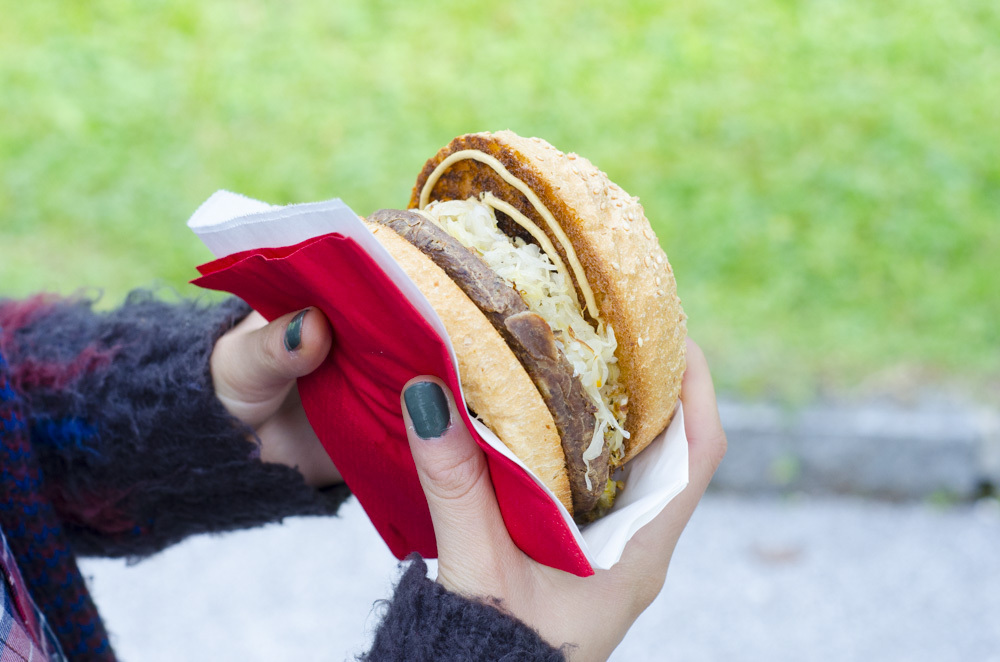Vleischpflanzerl Foodtruck Salzburg