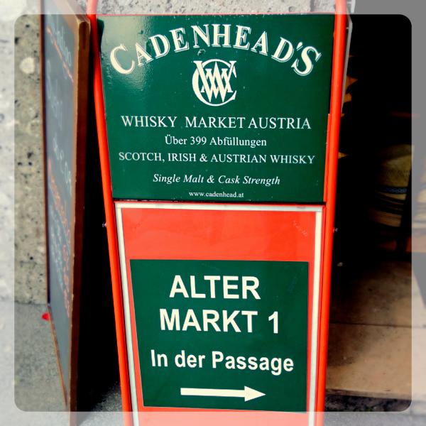 Cadenhead's Whisky Market am Alten Markt